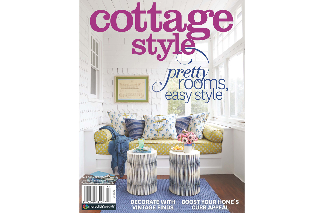 Cottage Style Magazine Cover